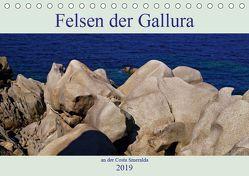 Felsen der Gallura an der Costa Smeralda (Tischkalender 2019 DIN A5 quer) von Schimon,  Claudia