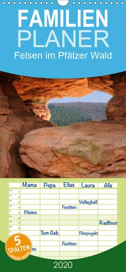 Felsen im Pfälzer Wald – Familienplaner hoch (Wandkalender 2020 , 21 cm x 45 cm, hoch) von Ebardt,  Michael