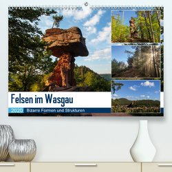 Felsen im Wasgau (Premium, hochwertiger DIN A2 Wandkalender 2020, Kunstdruck in Hochglanz) von Jordan,  Andreas