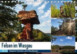 Felsen im Wasgau (Tischkalender 2019 DIN A5 quer) von Jordan,  Andreas