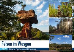 Felsen im Wasgau (Wandkalender 2020 DIN A2 quer) von Jordan,  Andreas