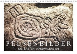 Felsenbilder: Die ersten Wandmalereien (Wandkalender 2019 DIN A4 quer) von CALVENDO
