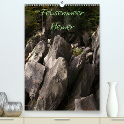 Felsenmeer Hemer (Premium, hochwertiger DIN A2 Wandkalender 2021, Kunstdruck in Hochglanz) von Bernds,  Uwe