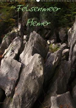 Felsenmeer Hemer (Wandkalender 2021 DIN A2 hoch) von Bernds,  Uwe