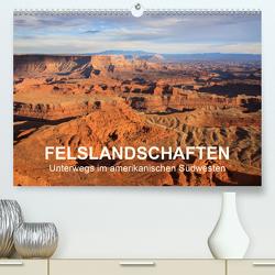 Felslandschaften (Premium, hochwertiger DIN A2 Wandkalender 2020, Kunstdruck in Hochglanz) von und Udo Klinkel,  Ellen