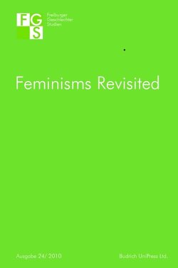 Feminisms Revisited von Penkwitt,  Meike