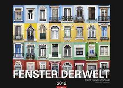 Fenster der Welt – Kalender 2019 von Goncalves,  Andre Vicente, Weingarten