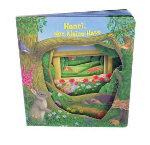 """Fenster-Pappenbuch """"Henri, der kleine Hase"""" von Bampton,  Bob"""