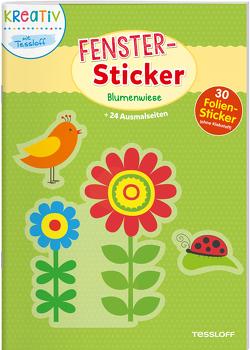 Fenster-Sticker. Blumenwiese von Beurenmeister,  Corina, Tessloff Verlag