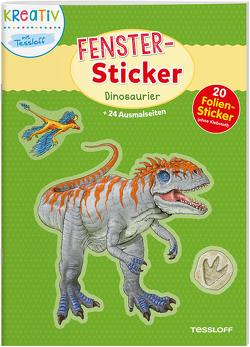 Fenster-Sticker. Dinosaurier von Walther,  Max