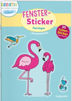 Fenster-Sticker. Flamingos von Schmidt,  Sandra, Tessloff Verlag