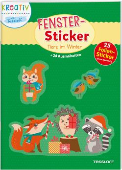Fenster-Sticker. Tiere im Winter von Schmidt,  Sandra, Tessloff Verlag