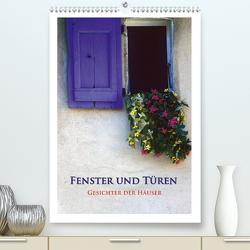 Fenster und Türen – Gesichter der Häuser (Premium, hochwertiger DIN A2 Wandkalender 2021, Kunstdruck in Hochglanz) von Janka,  Rick
