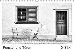 Fenster und Türen (Wandkalender 2018 DIN A3 quer) von Bergenthal,  Jürgen