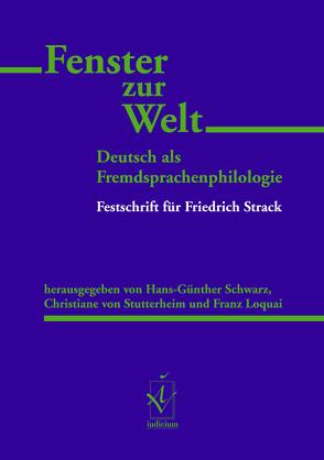 Fenster zur Welt von Loquai,  Franz, Schwarz,  Hans-Günther, Sutterheim,  Christiane von