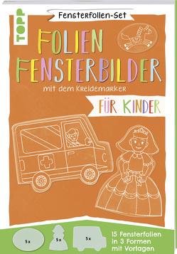 Fensterfolien-Set – Folien-Fensterbilder mit dem Kreidemarker – Für Kinder von frechverlag