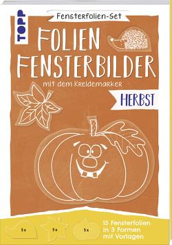 Fensterfolien-Set – Folien-Fensterbilder mit dem Kreidemarker – Herbst von frechverlag, Pedevilla,  Pia