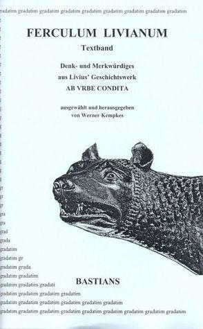 Ferculum Livianum, Textteil von Kempkes,  Werner, Livius