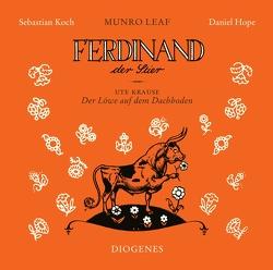 Ferdinand der Stier und Der Löwe auf dem Dachboden von Güttinger,  Fritz, Koch,  Sebastian, Krause,  Ute, Lawson,  Robert, Leaf,  Munro