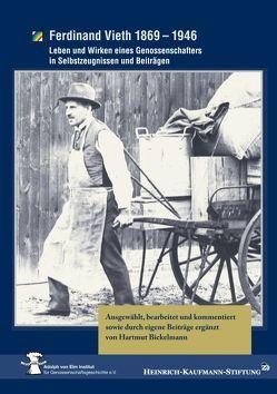 Ferdinand Vieth 1869 – 1946 von Bickelmann,  Hartmut, Heinrich-Kaufmann-Stiftung