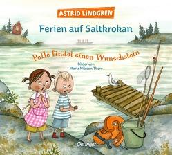 Ferien auf Saltkrokan. Pelle findet einen Wunschstein von Dohrenburg,  Thyra, Lindgren,  Astrid, Nilsson Thore,  Maria