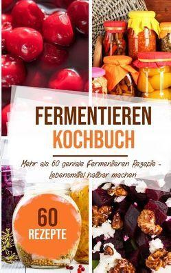 Fermentieren Kochbuch: Mehr als 60 geniale Fermentieren Rezepte – Lebensmittel haltbar machen von Stein,  Sabrina