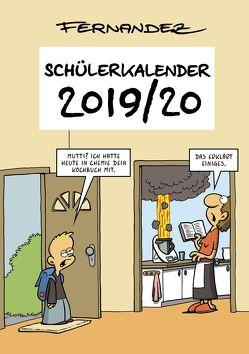 Fernandez Schülerkalender 2019/2020 von Fernandez,  Miguel