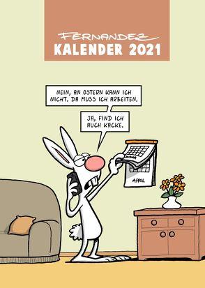 Fernandez Terminplaner 2021 von Fernandez,  Miguel