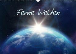 Ferne Welten (Wandkalender 2019 DIN A3 quer) von Gann (magann),  Markus