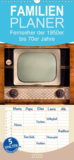 Fernseher der 1950er bis 70er Jahre: In die Röhre geguckt – Familienplaner hoch (Wandkalender 2020 , 21 cm x 45 cm, hoch) von CALVENDO