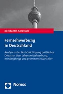 Fernsehwerbung in Deutschland von Korosides,  Konstantin