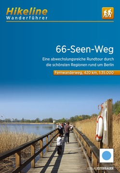 Fernwanderweg 66-Seen-Weg von Esterbauer Verlag