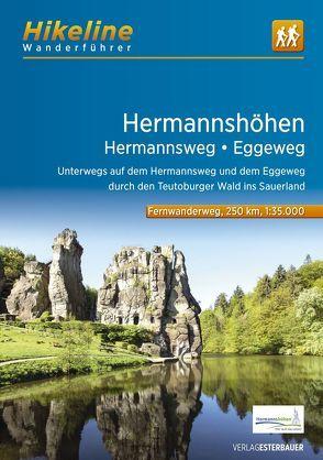 Fernwanderweg Hermannshöhen – Hermannsweg-Eggeweg von Esterbauer Verlag