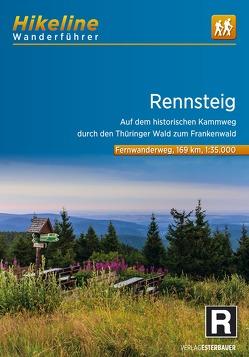 Fernwanderweg Rennsteig von Esterbauer Verlag
