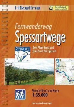 Fernwanderweg Spessartwege von Esterbauer Verlag