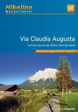 Fernwanderweg Via Claudia Augusta von Esterbauer Verlag
