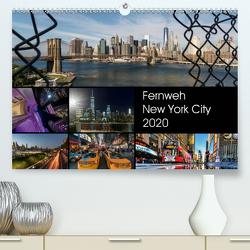 Fernweh New York City (Premium, hochwertiger DIN A2 Wandkalender 2020, Kunstdruck in Hochglanz) von Krause,  Kurt