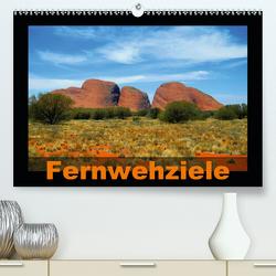Fernwehziele (Premium, hochwertiger DIN A2 Wandkalender 2021, Kunstdruck in Hochglanz) von Pons,  Andrea