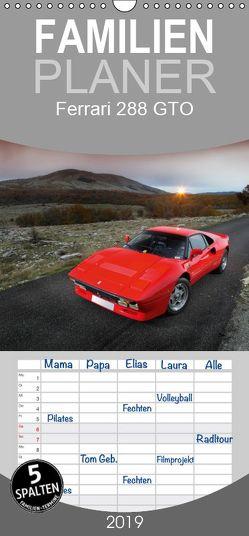 Ferrari 288 GTO – Familienplaner hoch (Wandkalender 2019 <strong>21 cm x 45 cm</strong> hoch) von Bau,  Stefan