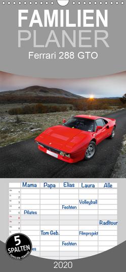 Ferrari 288 GTO – Familienplaner hoch (Wandkalender 2020 , 21 cm x 45 cm, hoch) von Bau,  Stefan