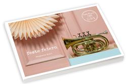 feste feiern – Postkartenbuch – Zum Danke sagen, als Gastgeschenk oder einfach so von Brall,  Stephanie