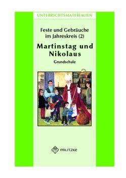 Feste und Gebräuche im JahreskreisTeil 2: Martinstag, Nikolaus von Fahsel,  Ina
