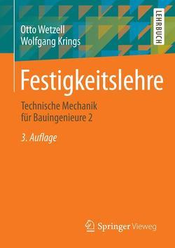 Festigkeitslehre von Krings,  Wolfgang, Wetzell,  Otto