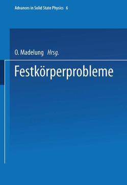Festkörperprobleme von Madelung,  O.