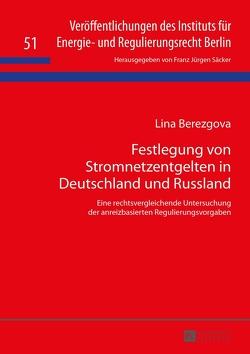 Festlegung von Stromnetzentgelten in Deutschland und Russland von Berezgova,  Lina