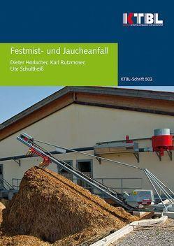 Festmist- und Jaucheanfall von Horlacher,  Dieter, Rutzmoser,  Karl, Schultheiß,  Ute