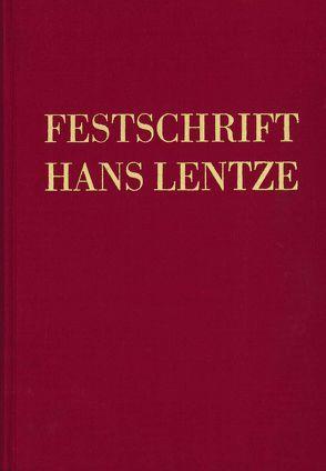 Festschrift Hans Lentze von Grass,  Nikolaus, Ogris,  Werner