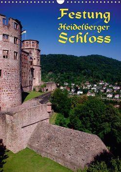 Festung Heidelberger Schloss (Wandkalender 2018 DIN A3 hoch) von Burkhardt,  Bert