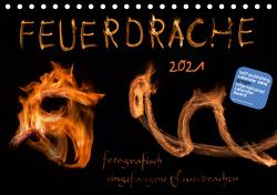 Feuerdrache (Tischkalender 2021 DIN A5 quer) von Feuerdrache