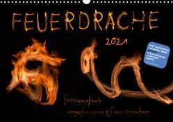 Feuerdrache (Wandkalender 2021 DIN A3 quer) von Feuerdrache